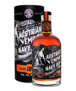 Austrian Empire Navy Rum Solera 18YO darčekové balenie